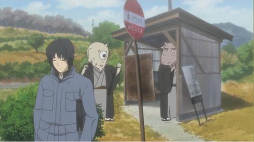 夏目友人帳聖地「バス停」